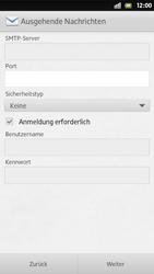 Sony Xperia S - E-Mail - Manuelle Konfiguration - Schritt 12