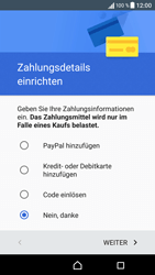Sony Xperia XA - Apps - Einrichten des App Stores - Schritt 19