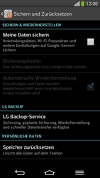 LG D955 G Flex - Fehlerbehebung - Handy zurücksetzen - Schritt 8