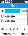Bouygues Telecom Bc 211 - Contact, Appels, SMS/MMS - Ajouter un contact - Étape 6