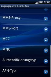 Sony Ericsson Xperia X8 - MMS - Manuelle Konfiguration - 12 / 17