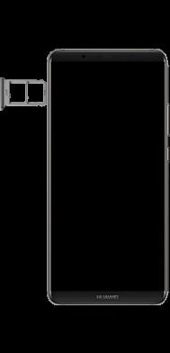 Huawei Mate 10 Pro - Android Pie - SIM-Karte - Einlegen - Schritt 4