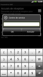 HTC X515m EVO 3D - SMS - configuration manuelle - Étape 7