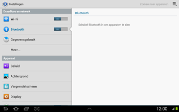 Samsung P5100 Galaxy Tab 2 10-1 - Bluetooth - headset, carkit verbinding - Stap 5