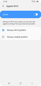 Samsung Galaxy S9 - Android Pie - WiFi - Activez WiFi Calling - Étape 11