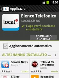 Samsung Galaxy Y - Applicazioni - Installazione delle applicazioni - Fase 9