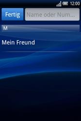 Sony Ericsson Xperia X8 - MMS - Erstellen und senden - Schritt 7