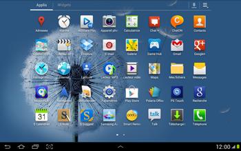 Samsung N8000 Galaxy Note 10-1 - E-mail - envoyer un e-mail - Étape 2