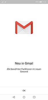 Huawei P20 - Android Pie - E-Mail - Konto einrichten (gmail) - Schritt 4