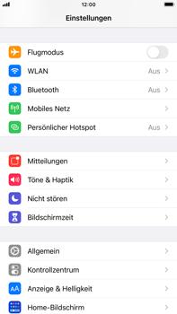 Apple iPhone 8 Plus - iOS 14 - Gerät - Zurücksetzen auf die Werkseinstellungen - Schritt 3