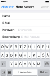 Apple iPhone 4 S - E-Mail - Konto einrichten - 8 / 29