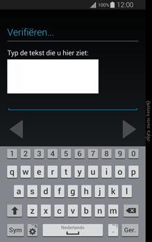 Samsung Galaxy Note Edge - apps - account instellen - stap 17