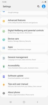 Samsung Galaxy Note 20 Ultra 5G - Software - Installing software updates - Step 4