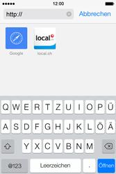 Apple iPhone 4S iOS 7 - Internet und Datenroaming - Verwenden des Internets - Schritt 18