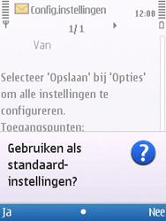 Nokia 6700 slide - internet - automatisch instellen - stap 5