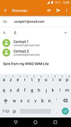 Wiko WIM Lite - E-mails - Envoyer un e-mail - Étape 6