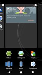 Sony Xperia XZ1 - Startanleitung - Installieren von Widgets und Apps auf der Startseite - Schritt 4