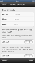 Apple iPhone 5 - Applicazioni - configurazione del negozio applicazioni - Fase 11
