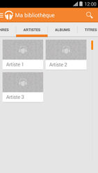 Bouygues Telecom Ultym 5 II - Photos, vidéos, musique - Ecouter de la musique - Étape 7