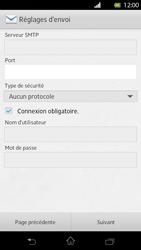 Sony Xperia T - E-mail - Configuration manuelle - Étape 12