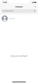 Apple iPhone 11 Pro - Contact, Appels, SMS/MMS - Ajouter un contact - Étape 4