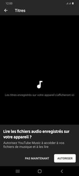 Samsung Galaxy S20+ - Photos, vidéos, musique - Ecouter de la musique - Étape 6