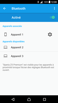 Sony Xperia Z5 Premium - Android Nougat - Bluetooth - connexion Bluetooth - Étape 10