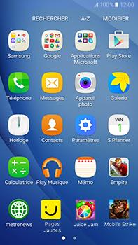 Samsung Samsung Galaxy J7 (2016) - Contact, Appels, SMS/MMS - Envoyer un SMS - Étape 3