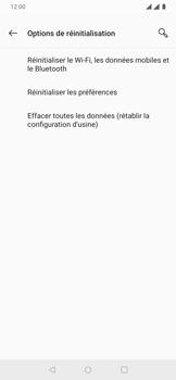 OnePlus 7 - Aller plus loin - Restaurer les paramètres d'usines - Étape 6