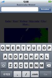 Apple iPhone 4S met iOS 5 (Model A1387) - Internet - Hoe te internetten - Stap 12