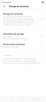 Oppo A9 2020 - Internet et connexion - Partager votre connexion en Wi-Fi - Étape 6
