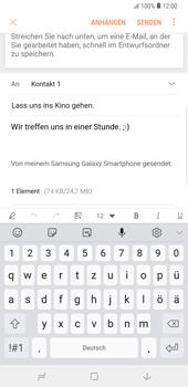 Samsung Galaxy Note9 - E-Mail - E-Mail versenden - 19 / 21