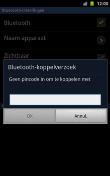Samsung N7000 Galaxy Note - Bluetooth - koppelen met ander apparaat - Stap 10