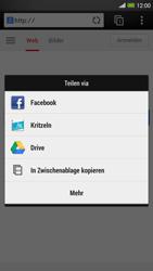 HTC One Max - Internet und Datenroaming - Verwenden des Internets - Schritt 21