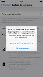 Apple iPhone 6 iOS 8 - Internet et connexion - Partager votre connexion en Wi-Fi - Étape 6
