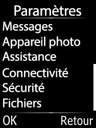 Doro 6620 - E-mails - Ajouter ou modifier un compte e-mail - Étape 4