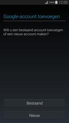 Samsung G850F Galaxy Alpha - Applicaties - Account instellen - Stap 4