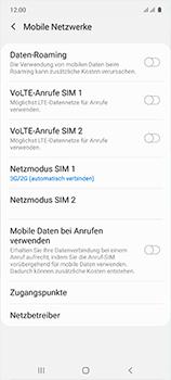 Samsung Galaxy A51 - Netzwerk - So aktivieren Sie eine 4G-Verbindung - Schritt 6
