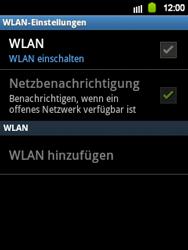 Samsung Galaxy Y - WiFi - WiFi-Konfiguration - Schritt 6
