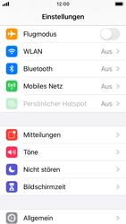 Apple iPhone SE - iOS 13 - Internet und Datenroaming - Prüfen, ob Datenkonnektivität aktiviert ist - Schritt 3
