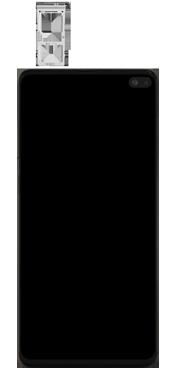 Samsung Galaxy S10 Plus - Premiers pas - Insérer la carte SIM - Étape 3
