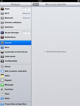 Apple iPad Retina - Logiciels - Installation de mises à jour - Étape 7