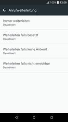 HTC One M9 - Android Nougat - Anrufe - Rufumleitungen setzen und löschen - Schritt 6