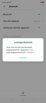 Oppo A9 2020 - Internet et connexion - Connexion avec un équipement multimédia via Bluetooth - Étape 8