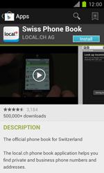 Samsung Galaxy S II - Applications - Installing applications - Step 7