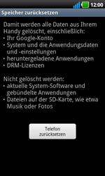 LG Optimus Black - Fehlerbehebung - Handy zurücksetzen - 8 / 10