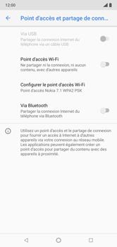 Nokia 7.1 - Internet et connexion - Partager votre connexion en Wi-Fi - Étape 9