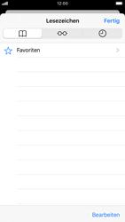Apple iPhone 8 - iOS 13 - Internet und Datenroaming - Verwenden des Internets - Schritt 9