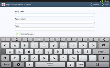 Samsung Galaxy Tab 3 10-1 LTE - E-mail - configurazione manuale - Fase 12