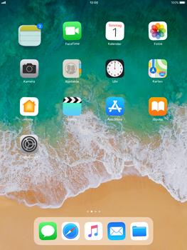 Apple iPad Pro 9.7 inch - iOS 11 - Mehrere App-Symbole gleichzeitig verschieben - 4 / 5